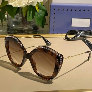 New 0214 Luxury Sunglasses For Women Fashion Oval Summer Style Rectangle Full Frame Top Quality UV400 Protection Come With Package 0214S