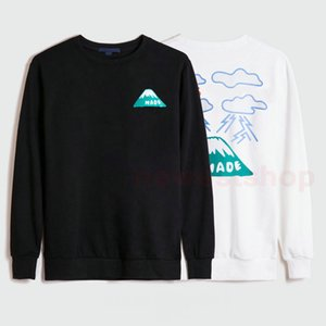 2020 hohe Modedesigner-Herbst-Winter-Männer Druck Marke Brief Wolken Pullover Hoodies Hoody Womens Casual Baumwollmantel Sweatshirt