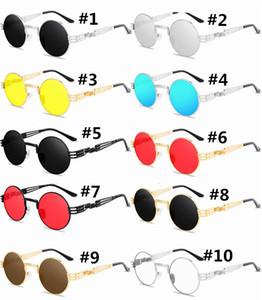 2021 Optical Round Metal Sunglasses Men Women Glasses Retro Vintage Sunglasses free shipping with good price
