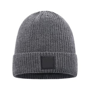 Mens Beanie Winter Wool Hat New Fashion Womens Knitted Thicken Warm Polo Beanie Bonnet Cap