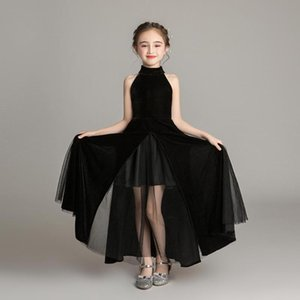 2020 New Pretty Tutu Catwalk Pageant Girls Dresses Puffy Tulle Flower Girl Dresses Communion Dress for girls Vestidos L07