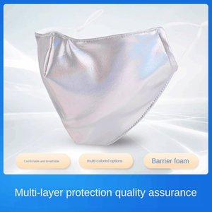Three dimensional creative laser breathable dust adult protective mask