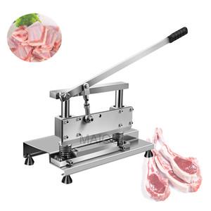 Manual Multifuncional cerdo trotones Chopper hueso de pollo Costillas de corte de la máquina Cuting Patos pescado con cuchillos afilados