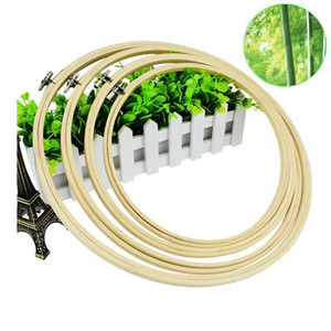 13 17 20 23 26 30cm Embroidery Tambour Hoops Frame Wooden Embroidery Hoop Rings for for DIY Cross Stitch Needle Craft Tools1