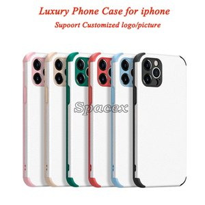 Lambskin Adapting Sound Hole Anti-drop Design Fashion Phone Case Shockproof TPU PC Cover Cases for iPhone 12 Mini 12 Pro
