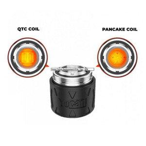 Original Yocan Falcon Replacement Coil Head QTC Quatz Triple Coil Pancake Coil Atomizer Core for Wax Concentrate Dab Device Kit DHL free