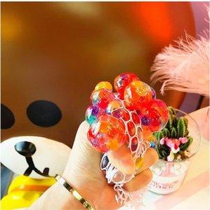 Anti-Stress-Soft Toy Grape Kugel Blase Big Bead Vent Kugel Dekomprimierung Pinch Musik Gesunde nette Spielzeug Squishy Geschenke für Kinder