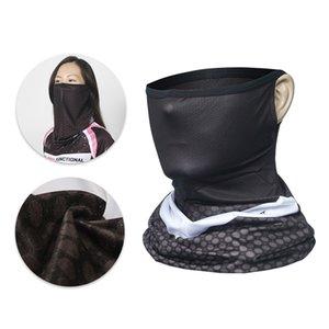Magic Scarf Cycling Mountain Road Mtb Bike Halfface Mask Men Women Bicycle Neck Scarves Headband Headwear Balaclava Black YPOW
