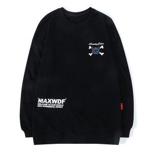 2021 novo inverno algodão pulôver top hip-hop hoodie masculino e feminino street tiro grizzly urso anime imprimir harajuku moletom eh2q