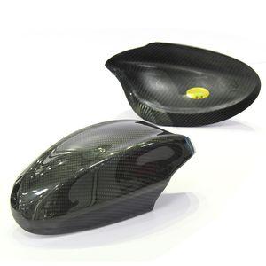 Carbon copertura dello specchio della fibra retrovisore per BMW E90 E92 E93 Serie 3 325i 320 2005- 2012 Aggiungi su stile laterale Specchio