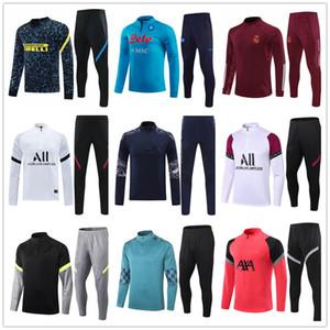 hombres jogging Nigeria 2020 2021 Nápoles entrenamiento de fútbol chándal survetement fútbol chandal Futbol Jersey 20 21 chándal