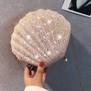 День рождения подарок для Girlfriend Shell Shoulder Bag Малый Любовь Подарок Годовщина Present День Святого Валентина Рождество партии Поставки Рождество A6Dd #