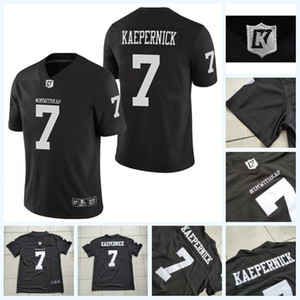Imwithkap Jersey Football 7 Colin Kaepernick Eu estou com WAP American Football Jersey Stitched Homens S-3XL Frete Grátis