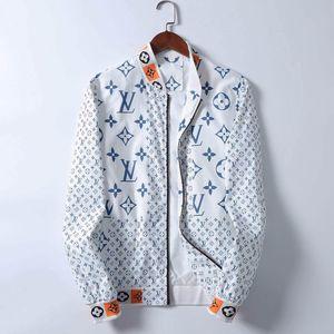 2020 heiße neue Produkte Herbst Jacke der Männer Art und Weise beiläufige Jacke der Männer Manteljacke lose Stehkragen Strickjacke Reißverschluss Mantel der Männer