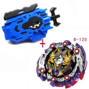 Beyblade lanzadores de ráfaga B-128 B-122 B-145 Toupie Bayblade estalla Metal God Peonza Bey Blade cuchillas juguete YHSM0001