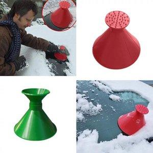 Big Size Remover Magic Shovel Cone Shaped Outdoor Winter Car Tool Snow Windshield Funnel Ice Scraper