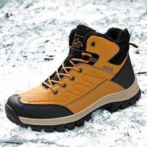 Мужчины ботинки 2020 весенние ботинки ботинки обувь зима натуральная кожаная обувь мужчина панк повседневная езда коварные ботас гомбе плюс размер 37-47 # YY2T