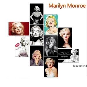 62 Styles Ator Marilyn Monroe Vintage Home Decor Tin Sign Bar Pub metal decorativa retro do sinal da placa de metal Pintura de Metal Plaque