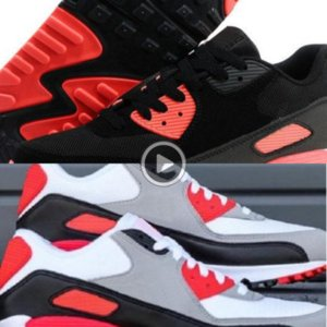 Sneakers Classic 90 Men and woman Shoes Sports Trainer Air Cushion Surface Breathable Sports Shoes 7-11 c01 coNWR