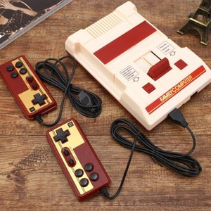 For FC NES TV Game Console Retro Classic Nostalgic 8 Bit Video Games Console Player + Dual Gamepads+500 IN 1 AV Output