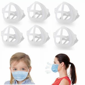 3D Mask Bracket for Adult Child Lipstick Protection Stand Mask Inner Support Frame Face Masks Holder Tool Accessories LJJP708