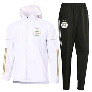 2020 2021 chándales de fútbol de invierno pantalones de los deportes de fútbol argelia mangas largas chaquetas rompevientos ropa de entrenamiento kits Operando Conjuntos