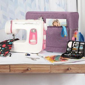 Large Capacity Storage Bag Sewing Machine Travel Waterproof Sewing Machine Storage Organizer Dust Cover Pocket