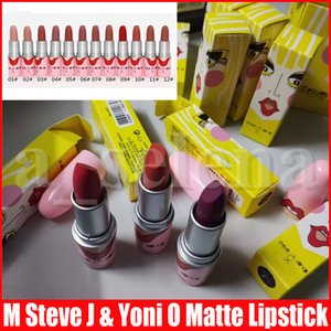 M Lip Makeup lipstick Steve J & Yoni P Matte Lip Stick Make Up 12 Colors Bullet Lipsticks