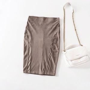 Cthink buona qualità autunno bodycon matita ufficio signora lady più economico gonne per donna sconto skirt femminile originale Q1229