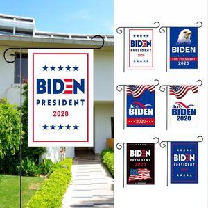 2020 Biden Garden Flags American President Double Sided Premium Fabric Outdoor Decoration Yard Lawn Banner DDA223