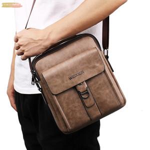 Maioumy Business Bag 2020 New Fashion Mens Pu Gentleman Fashion Simple Leisure Single Shoulder Messenger Bags Drop Shipping Sept 05