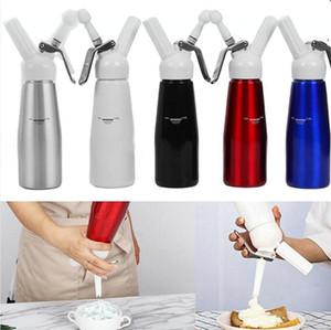 500ML Cream Whipper N2O Dispenser Aluminium Stainless Whipped Fresh Cream Foam Maker Cracker Dispenser Cake Tools DDA726