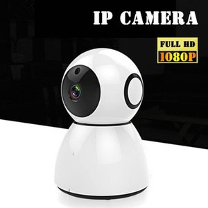 1pc Newest High Qulity Full HD 1080P 2MP Indoor Wifi Ip Camera Home Security Cameras Two Way Audio Baby Monitor
