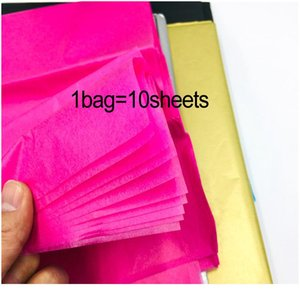 10sheets bag Tissue Paper Flower 50*66cm Gift Packaging Home Decoration Festive & Party Wedding Diy Gift Packing jllqVF