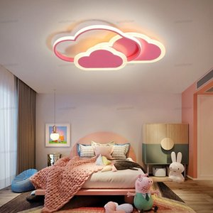 Led Ceiling Lamp for Children's Room Bedroom Study nursery Modern Dimmable Creative Child Cloud Chandelier Lighting Fixture