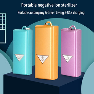 Safe and portable rectangle negative ion air purifier with high efficiency