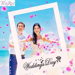 Fengrise Mr Mrs Just Married Fun Photo Booth Props Bride Groom Wedding Decoration Photobooth Bridal Shower Event Party Supplies bbyFyi