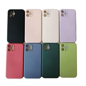 Cube líquidos de alta qualidade TPU macio Phone Case Rubik Silicone Phone Case para iPhone 12 Mini Pro Max 11 Pro Xr X Xs Max 7 8 6S Além disso,