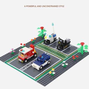 Yol 32x32 yapı taşları aksesuar diy yaratıcı montaj çocuklar zeka oyuncakları erkek hediye 03 taban plakası