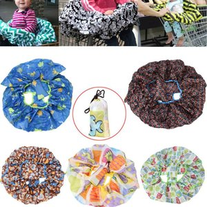 2020 Cartoon pattern Foldable Shopping Cart Cushion Pad Protection Cover Seat Safety Belt Chair Mat #30