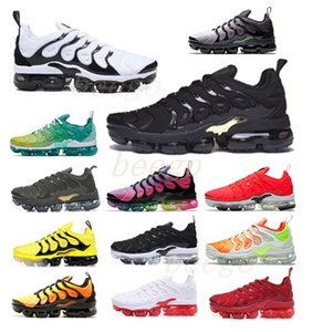 Venta preferencial air max airmax vapors vapormax TNS PLUS ultra ejecutando zapato Zebra Classic Outdoor TN Cojín Shoes Deporte SHOCK RUNNER Sneakers Mens Requin 36-46 2020 #