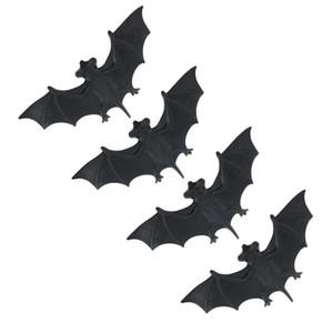4 Pièces Effrayant Bats Fake Plastic Halloween maison hantée partie de Props Trick