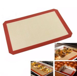 """Large Red Non-stick Silicone Mat Square Food Grade Non Stick Baking Cookie Sheets size 8.5"""" X 11.5 """" SN5055"""