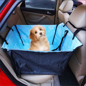 Pet Dog Car Carrier Seat cover Bag Waterproof Basket Folding Hammock Pet Carriers Bag For Small Cat Dogs Safety Travelling