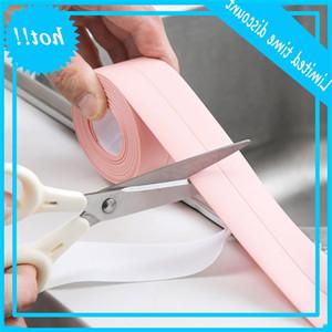 3.2M Adjustment Bathroom Shower Waterproof Sealing Tape Mold Millennium Proof Strip Gypsum Sticker