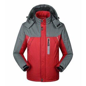 Winter Fashion Men's Parkas Coat Thick Coat Jacket Windproof Warm Sweatshirt Large Size 5XL Chaqueta Hombre Men's Clothing