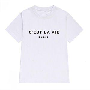 Womens Tops T Shirt Cotton Women 2020 Summer T shirt Short Sleeve Poleras Mujer Top Tee Shirt Femme Paris Printed Tshirts