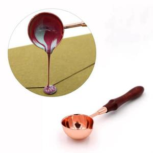 1pc Wax Seal Cuillère Craft Stamp fusion Letterbox enveloppe Retro 26 * 116mm pour l'argent