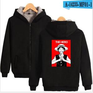 Sea King one piece Things Season printing Casual Designer thick Hoodies Sweatshirts Fshion Trendy Printed Hoodie for Men and Women