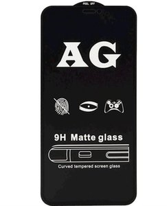 For iphone 12 AG Matte 9H Tempered Glass Screen Protector For iPhone 11 Pro Max Anti-Fingerprint Film For iPhone SE 2 XS Max XR X 8 7 6